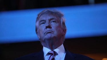 Donald Trump has baulked on his committment to defending NATO  allies against Russia.