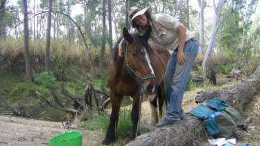 Belinda Ritchie rode from Healesville near Melbourne to Cooktown north of Cairns.