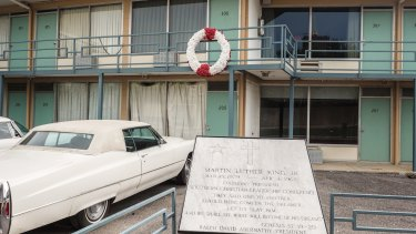 The National Civil Rights Museum in Memphis, which was built at the non-descript motel where Martin Luther King was assassinated.