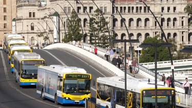 One of the proposals involved increasing the capacity for buses on Victoria Bridge