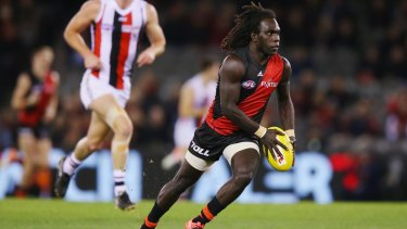 Anthony McDonald-Tipungwuti racked up five score-assists and six inside-50s, scoring two goals in Essendon's loss to St Kilda.