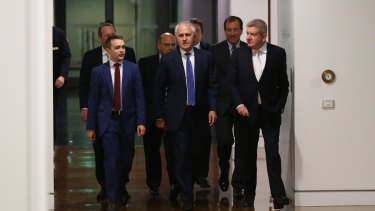Every man who walked to the Liberal leadership spill with Malcolm Turnbull secured a place in the new-look ministry.