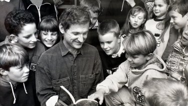 The author at Arrendell Education in 1991.