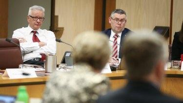 Ministers and senior public servants regularly face scrutiny from Senate estimates hearings.