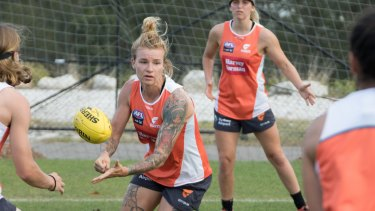 Juggling her army work and club commitments has made for long days for Phoebe Monahan.