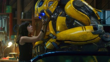 Hailee Steinfeld as Charlie in a scene from the origin story Bumblebee.