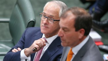 Prime Minister Malcolm Turnbull is facing questions over his decision to appoint Mal Brough to the frontbench.