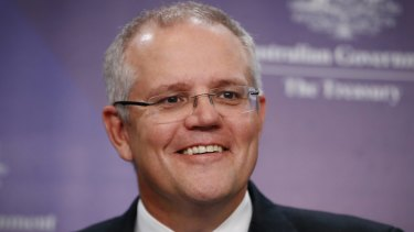 Treasurer Scott Morrison has linked housing affordability to the birth rate.