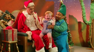 <i>Bad Santa</i>: William Ickes started studying aggression after he received Talk to the Hand as a Christmas present.