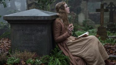 "Elle Fanning as Mary Shelley, who understood that ""imperfection is perfection""."