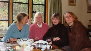Mary Nolan with daughters Celia, Tess and Alice.