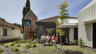 The design of Tower House shows denser living did not have to mean going higher, says architect Andrew Maynard.