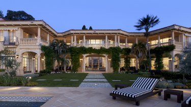 Evergrande chairman Xu Jiayin paid $39 million for the Point Piper mansion, Villa del Mare.