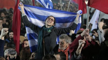 """In his victory speech, Alexis Tsipras set the stage for a showdown, declaring """"Europe is going to change""""."""