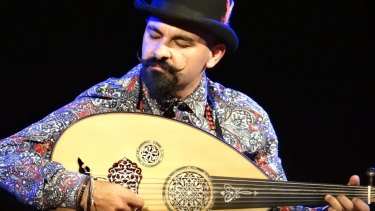 Egyptian-born multi-instrumentalist Joseph Tawadros will perform with the Australian Chamber Orchestra in February.