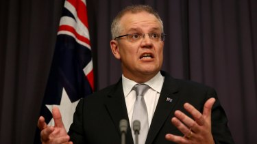 Reform options: Treasurer Scott Morrison's first budget will include previously ruled-out changes to income tax.