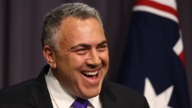 A good portfolio: Joe Hockey.