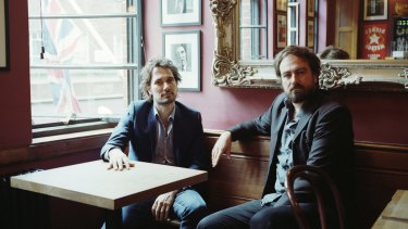 Brothers in arms: Jed (left) and Justin Kurzel.
