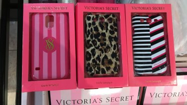 Samsung cases are still being sold in some Victoria's Secret stores in Australia.