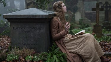 Mary Shelley's life was tumultuous, even more than is seen in the film.