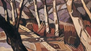 Margaret Preston's 'Aboriginal Landscape'.