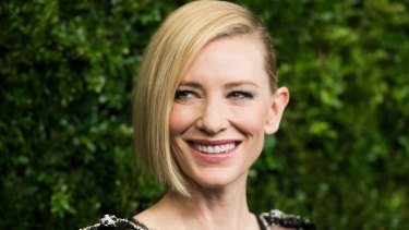 Cate Blanchett as she was honoured at Museum Of Modern Art Film Benefit at New York's Museum of Modern Art last month.