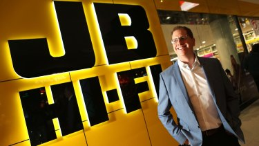 """JB Hi-Fi chief Richard Murray: """"The acquisition is a very attractive strategic opportunity for JB Hi-Fi."""""""