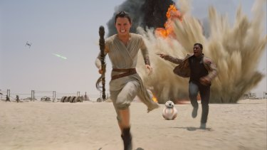 You may find yourself running from spoilers for <i>Star Wars: The Force Awakens</i> this week.
