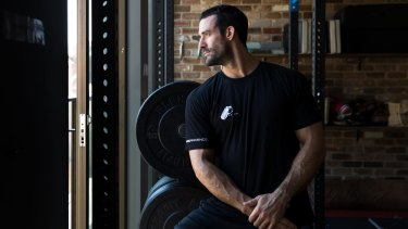 """""""I'm not in the healthy weight bracket. I'm literally overweight"""": Thomas Lacombe."""