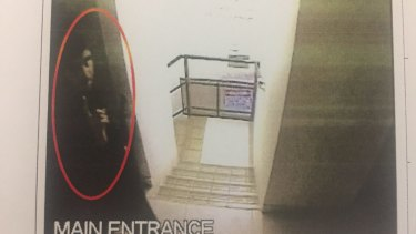 The hotline was one of several initiatives promised after Curtis Cheng was shot by Farhad Jabar, pictured leaving Parramatta Mosque moments before the killing.