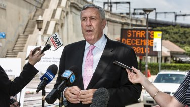 End of the road: Minister for Roads Duncan Gay.