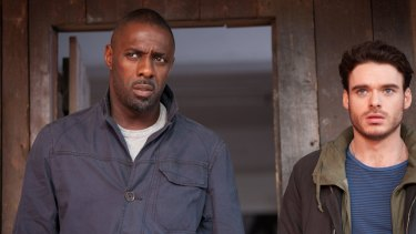 Idris Elba and Richard Madden team up in <i>Bastille Day</i>.