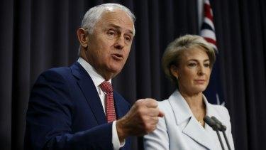 Jobs Minister Michaelia Cash will be at the centre of Malcolm Turnbull's new rhetorical pivot.