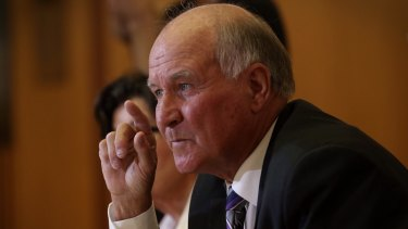 Former MP Tony Windsor may run again for his old seat.