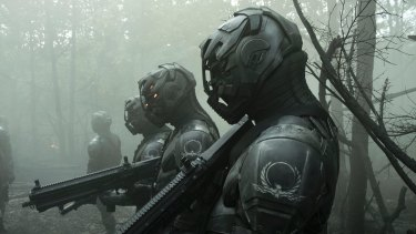 The sci-fi noir series Altered Carbon.