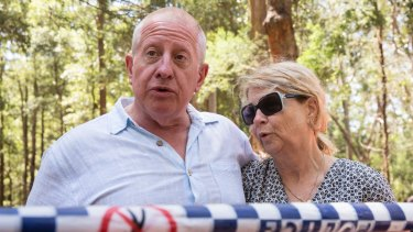 Mark and Faye Leveson were told of the search plans in December.