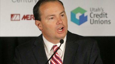 "A pained Mike Lee said in a video on Facebook that ""this can't continue""."