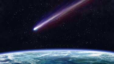 Scientists believe a comet hitting the Earth caused global warming 55.6 million years ago, an event that can help us understand climate change today.