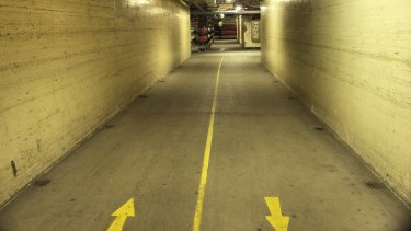 A tunnel underneath Royal Prince Alfred Hospital. Supplied.?  PICT0032.JPG