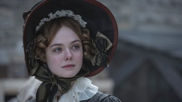 Elle Fanning delivers an impressive performance as Mary Shelley.