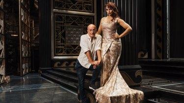 Dancing queen: Soprano Danielle de Niese and Merry Widow director Graeme Murphy.