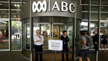ABC staff, pictured in 2014, are concerned with management decisions about the direction of ABC Radio and Radio National.
