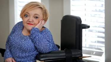 Comedian and disability advocate Stella Young.