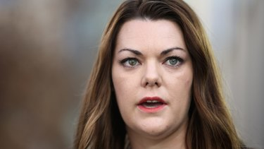 Senator Sarah Hanson-Young says she suspects Nauru's decision is payback for her role in exposing abuse inside the Nauru detention centre more than two years ago.
