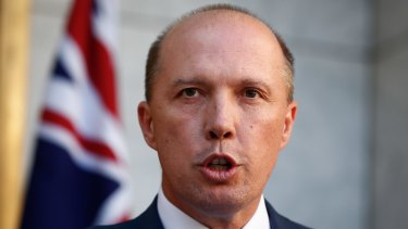 Immigration Minister Peter Dutton stands by his claims over the escalation of tension on Manus Island.