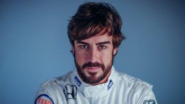 Injured: Spanish formula one driver Fernando Alonso.