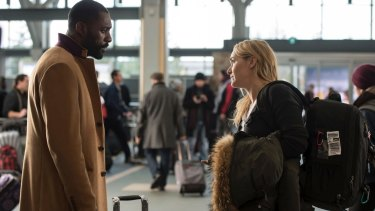 The filmmakers don't bother with the initial antagonism of  the romance formula for Ben (Idris Elba, left) and Alex (Kate Winslet).