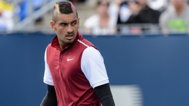 """There is no blame game, I take full responsibility for what was said"": Nick Kyrgios."