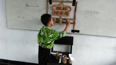 A student of Dewi Kurniati.