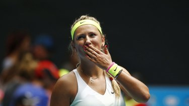 Victoria Azarenka has progressed to the next round.